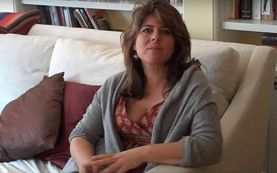 Naomi Wolf. (YouTube screenshot)