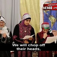 A screen capture from a video posted by the Muslim American Society's Philadelphia chapter (screen capture via MEMRI)
