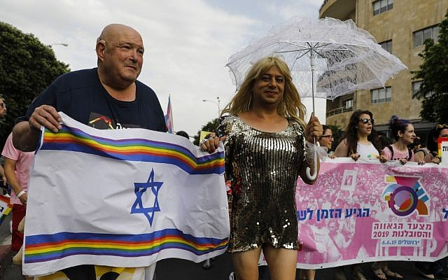 Over 10,000 march in Jerusalem Pride Parade under heavy