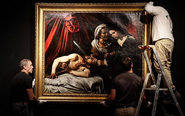 Lost' $170 million Caravaggio biblical masterpiece snapped