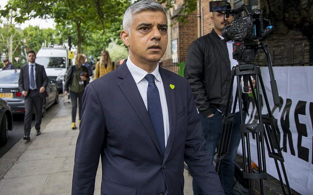 In fresh tirade, Trump slams London's mayor as a 'disaster,' 'national disgrace'