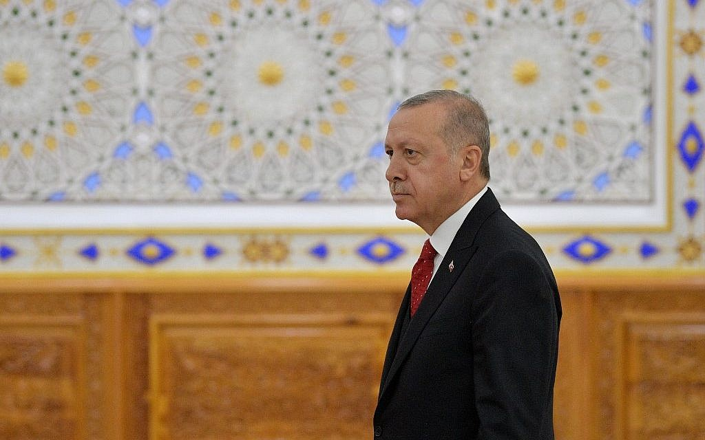 Erdogan says he expects delivery of Russian S-400s to start in July