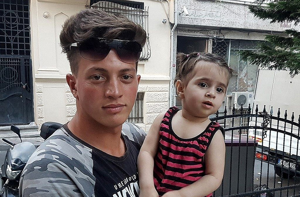Two year old falls from second floor in Turkey, teenager catches her