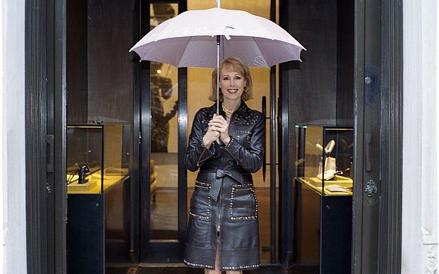 E. Jean Carroll  in New york in 2006. (Juliean Nesmo/ Wikimedia Commons)