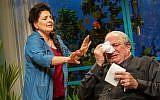 The Khan Theatre in Jerusalem presents Anat Gov's 'Oh God.' (Yael Ilan)