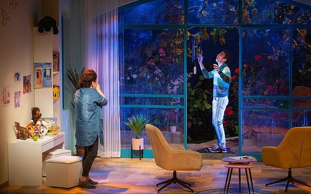 The Khan Theater in Jerusalem presents Anat Gov's 'Oh God.' (Yael Ilan)