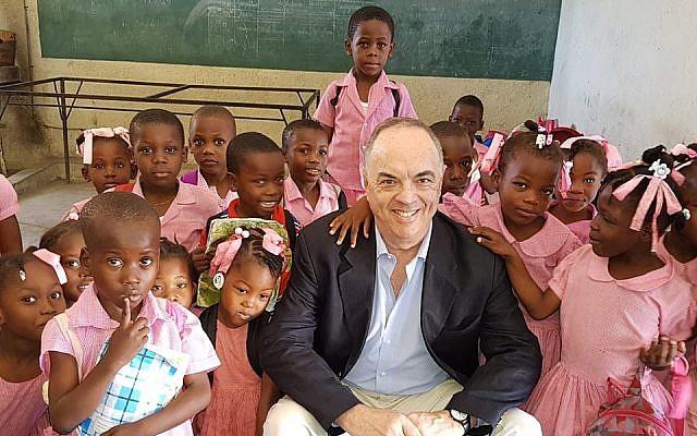 Argentina's ambassador to Haiti Pedro Von Eyken. (Facebook)
