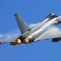 Illustrative - A British Royal Air Force Quick Reaction Alert Typhoon fighter aircraft. (Courtesy - Royal Air Force)
