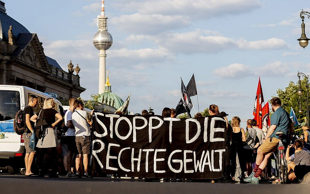German report points to sharp rise in anti-Semitic violence