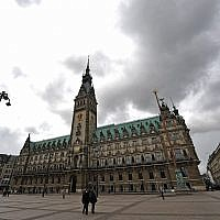 A view of city hall in Hamburg, Germany on June 4, 2009. (AP Photo/Axel Heimken)