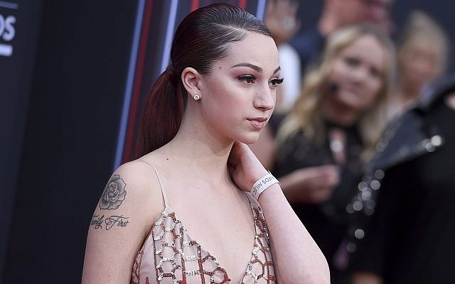 Danielle Bregoli, also known as Bhad Bhabie, arrives at the Billboard Music Awards at the MGM Grand Garden Arena, on May 20, 2018, in Las Vegas. (Jordan Strauss/Invision/AP)