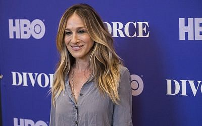 "Sarah Jessica Parker attends a screening of HBO's ""Divorce"" season 2 at The Whitby Hotel on June 1, 2018, in New York. (Charles Sykes/Invision/AP)"