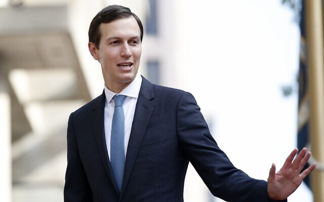 White House adviser and US President Donald Trump's son-in-law, Jared Kushner, in Washington on August 29, 2018. (AP /Jacquelyn Martin)