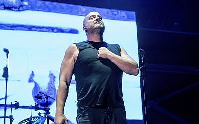 David Draiman of Disturbed performs at the Sonic Temple Art and Music Festival at Mapfre Stadium on May 18, 2019, in Columbus, Ohio. ( Amy Harris/Invision/AP)
