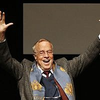 Franco Zeffirelli is shown in this Oct. 16, 2009 file photo, in Rome. The Italian director, known for operas, films and television, has died in Rome at the age of 96. (AP Photo/Alessandra Tarantino)
