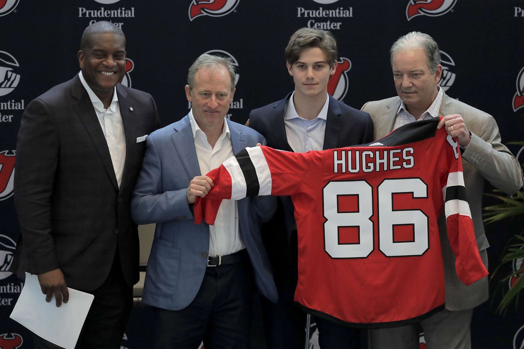 Jack Hughes Becomes First Jewish No 1 Pick In Nhl Draft The Times