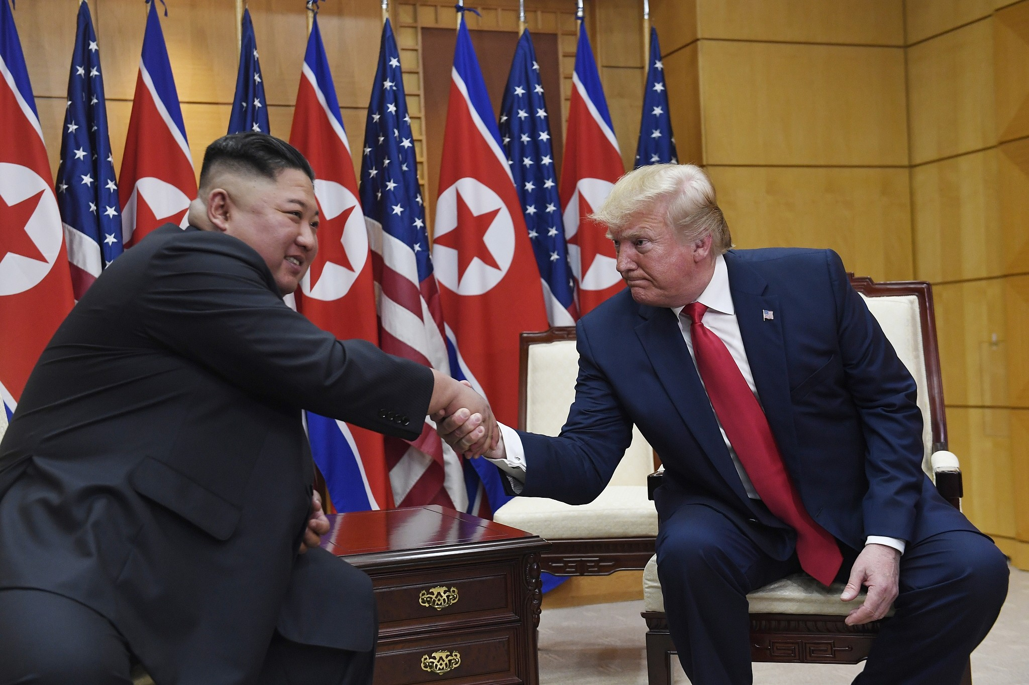 North Korea hails Trump-Kim meeting at DMZ as 'historic' and 'amazing'