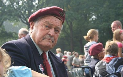 Tom Derek Bowden at Arnhem, Netherlands. (via UK Jewish News)