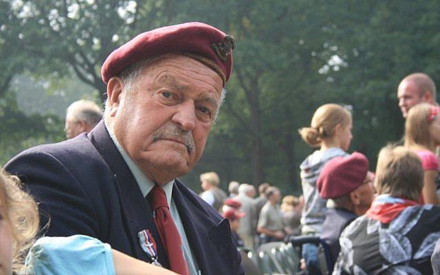 Tom Derek Bowden at Arnhem, Netherlands. (via UK Jewish News)