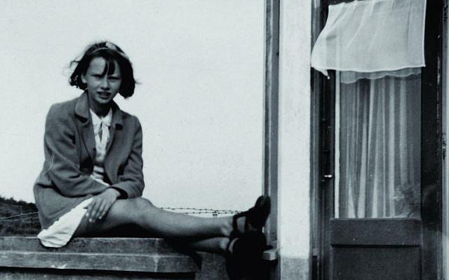 Audrey Hepburn at around the time the Nazi occupation of the Netherlands began. (Dotti Collection)