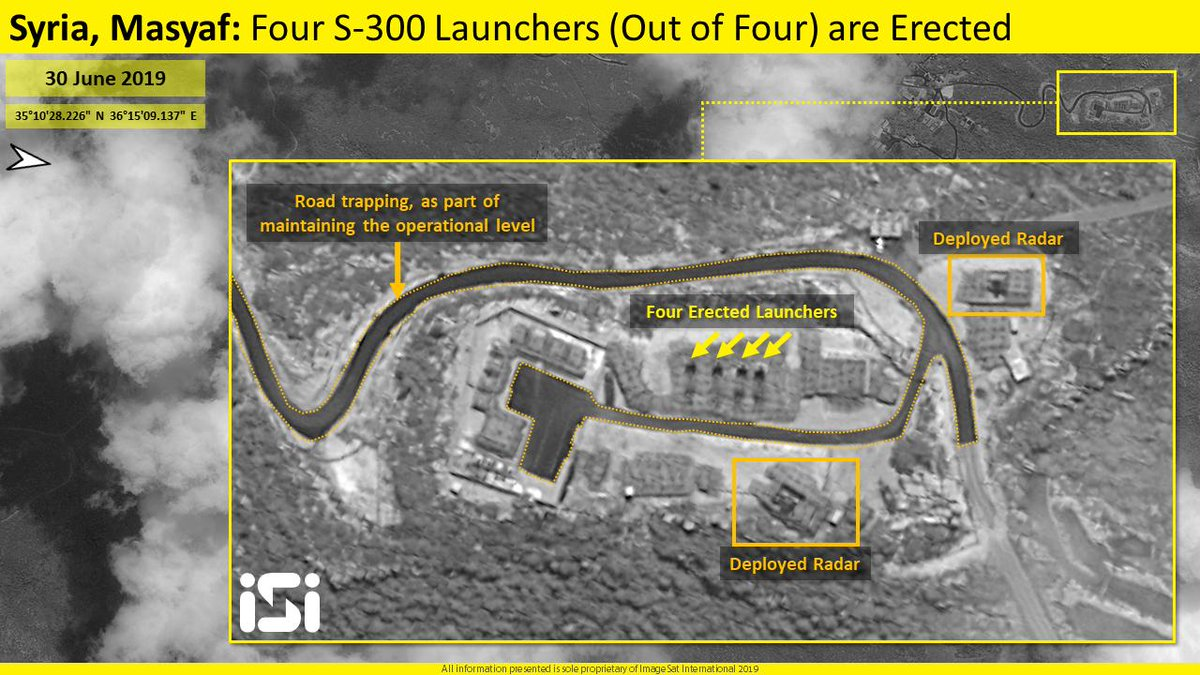 Satellite intel firm: Syria's entire S-300 air defenses likely operational  | The Times of Israel
