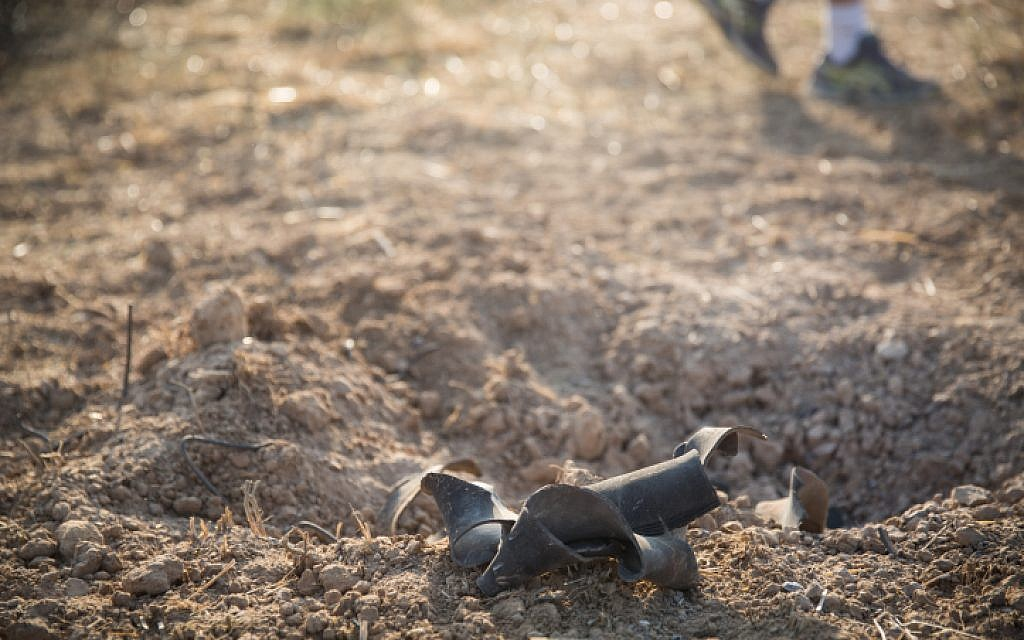 Rocket fired at southern Israel from Gaza, striking open field