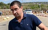 Real estate promoter and Tel Aviv nightlife figure Alon Kastiel arrives at the Hermon Prison in the northern part of Israel to begin serving his sentence for sex offenses, August 26, 2018. Meir Vaknin/Flash90)