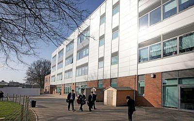 King David High School in Manchester, England. (CC BY-SA, Wikimedia commons)