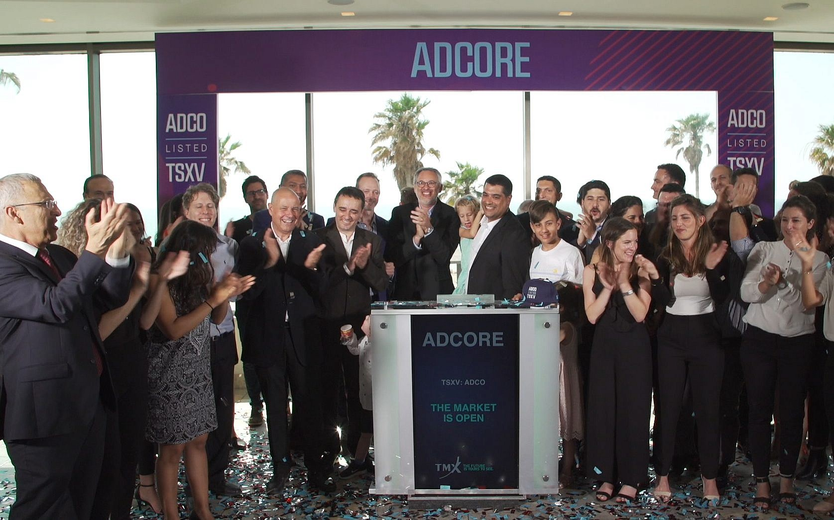 87ecbffa3069 The Toronto exchanges TSX and TSXV hold remote market openings in Tel Aviv  on 29 May