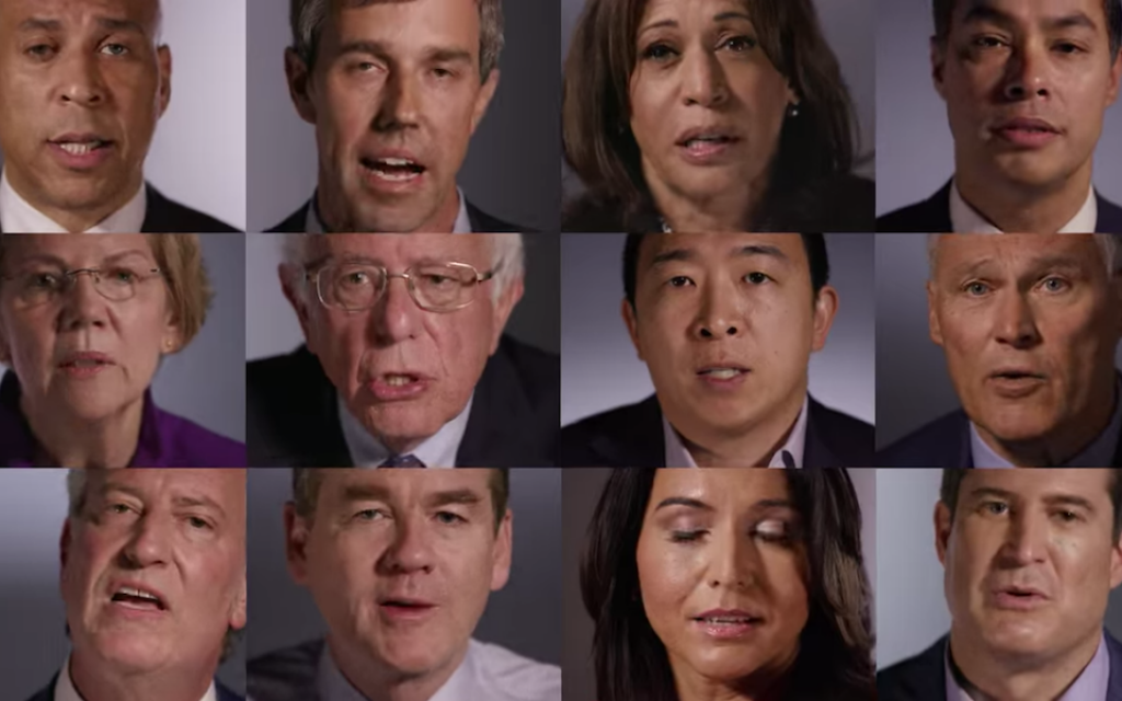 Queried on Israel and human rights, Democratic hopefuls offer guarded criticism