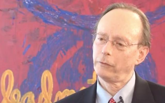 Gary Rosenblatt led The New York Jewish Week for 26 years. (Screenshot from YouTube via JTA)