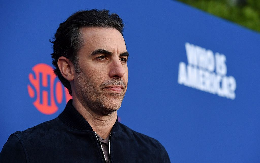 ADL to honor Sacha Baron Cohen for his 'vision, imagination and creativity'