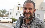 Ron Cobi, mayor of Tiberias, seen outside the city's municipality building, April 1, 2019. (David Cohen/Flash90)