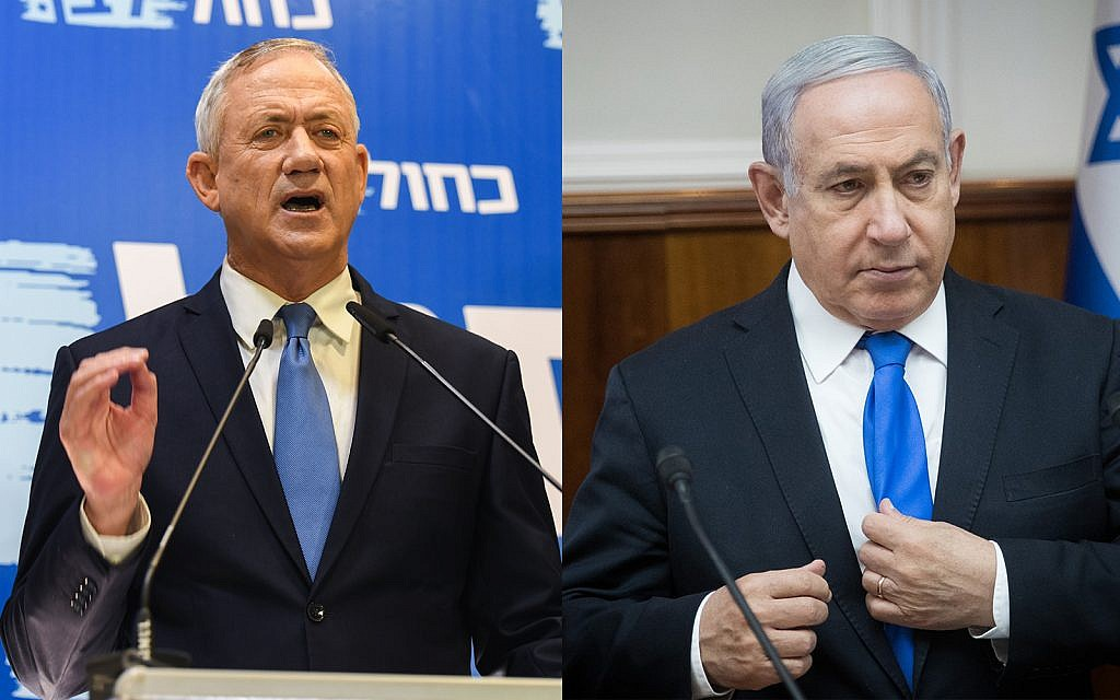 Blue and White opens 3-seat lead over Likud in first poll of new elections