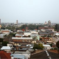 A view of Resistencia, Argentina, in 2010. The city's Holocaust monument was vandalized with a swastika. (WIkimedia Commons via JTA)