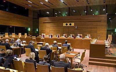 Illustrative - A hearing of the Court of Justice of the European Union. (Court of Justice of the European Union)