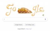 Google's falafel Doodle, June 18, 2019 (screenshot)