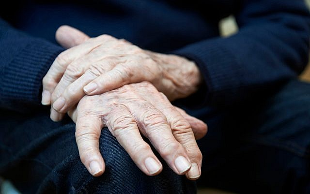 Illustrative image of a elderly patient with Parkinson's disease (Highwaystarz-Photography; iStock by Getty Images)