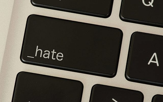 Illustrative of anti-Semitic threats on social media like Facebook. (Stadtratte, Getty Images)
