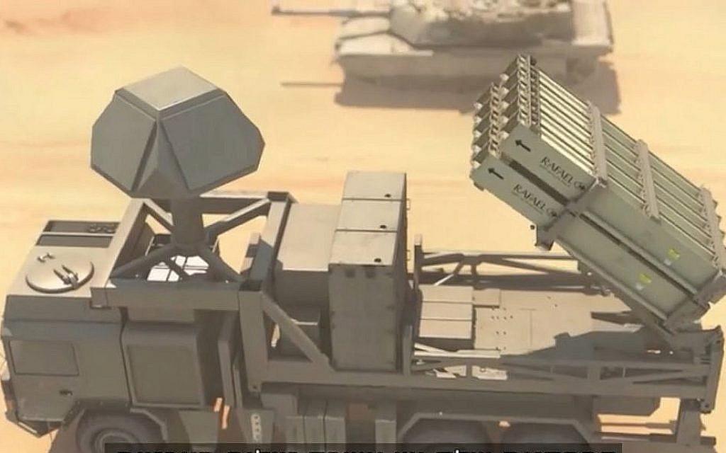 Israel unveils portable Iron Dome at Paris air show