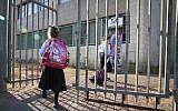 Illustrative: Orthodox girls arrive at their school. (Flash90)