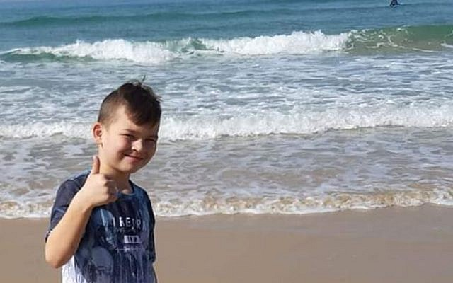 Timofy Ashturia, who was killed June 19, 2019 when he fell from a cliff in Bat Yam (Courtesy)