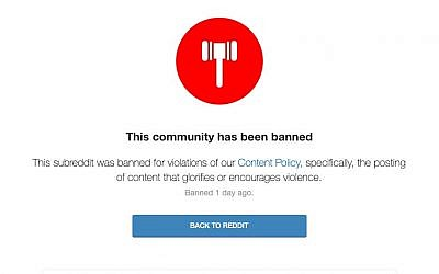 After 9 months, Reddit finally bans group spreading thinly