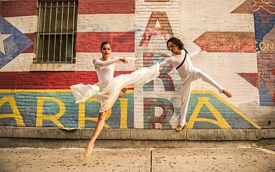 Members of New York's Ballet Hispanico, dressed for performing 'Carmen,' which they are bringing to Israel at the end of July 2019 (Courtesy Ballet Hispanico)