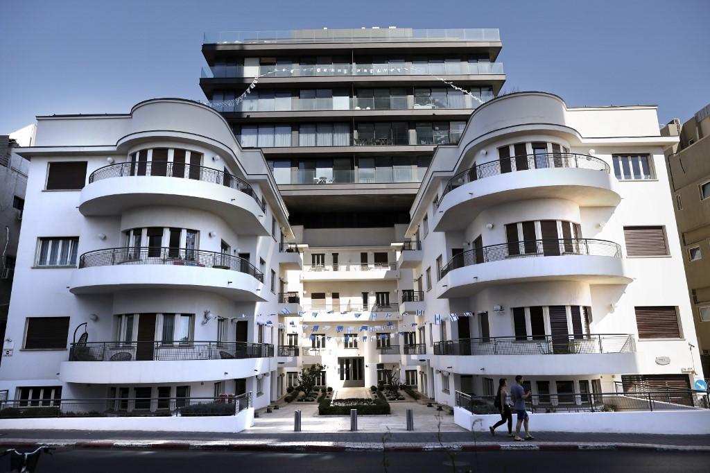 Risultati immagini per tel aviv bauhaus buildings