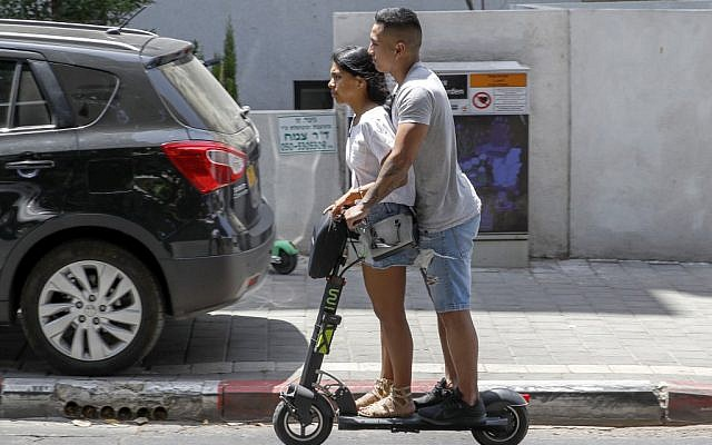Tel Aviv becomes electric scooter paradise for some, hell