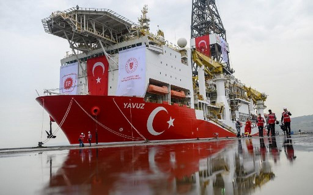 EU agrees to sanction Turkey over gas drilling off Cypriot coast
