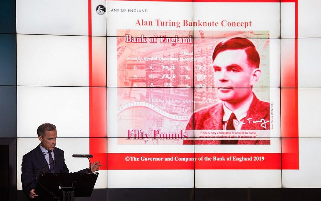 WWII code-breaker Alan Turing to appear on new UK bank note