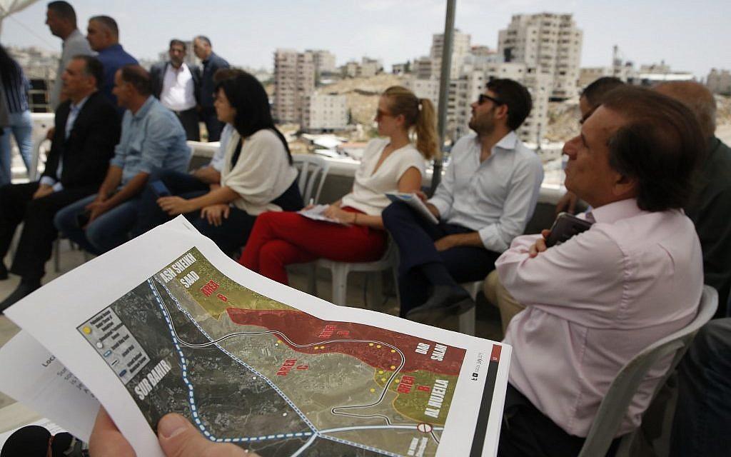 Palestinians press EU to help prevent East Jerusalem home demolitions