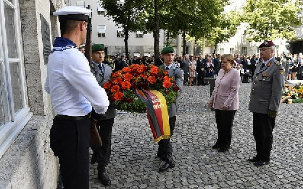 Germany marks 75 years since Hitler assassination attempt
